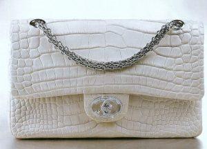 The Chanel Diamond Forever Classic Handbag