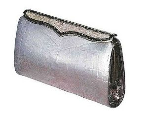 Cleopatra clutch, created by Lana Marks
