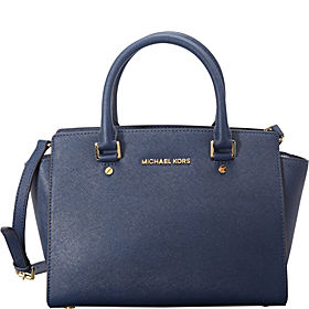 Selma Medium Top Zip Satchel